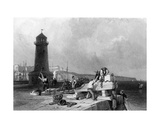 Ramsgate, Engraved by Joseph Clayton Bentley, 1836 Giclee Print by Clarkson R.A. Stanfield
