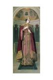 Tsarina Alexandra (1872-1918) Giclee Print by Nikolai K. Bodarevski