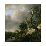 The Dunes Near Haarlem Giclee Print by Jacob Isaaksz. Or Isaacksz. Van Ruisdael