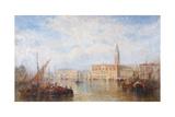 View of the Palazzo Ducale, Venice Giclée-Druck von J. Vivian