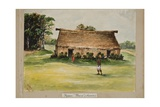 Fijian 'Bure', or House Giclee Print by Percy F.s. Spence
