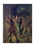 Serenading Giclee Print by Jan Havicksz. Steen