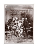 Last Moments of the Duke of Wellington Giclee Print by J.l. Williams