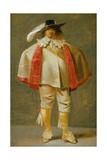 A Portrait of a Cavalier Giclee Print by Pieter Jansz. Quast