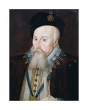 Portrait of Robert Dudley (1532-88) Earl of Leicester, 1587 Giclee Print by Pieter Jansz. Pourbus