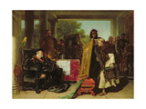 Emperor Charles V (1500-58) at the Convent of Yuste, 1856 Giclee Print by Alfred W. Elmore