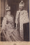 Queen Alexandra and King Edward Vii Photographic Print by W. And D. Downey