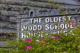 The Oldest Wood Schoolhouse in America, St Augustine, Florida, USA Photographic Print by Joanne Wells