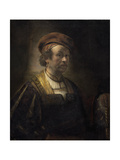 Portrait of Rembrandt, 1650 Giclee Print by Rembrandt Harmensz. van Rijn