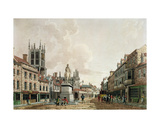 The Market Place, Hull, Looking North, 1780 Giclee Print by Thomas Malton Jnr.