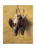 Brace of English Partridge, 1808 Giclee Print by J. Francis Sartorius