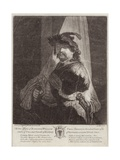 Portrait of William Tell Giclee Print by Rembrandt Harmensz. van Rijn