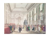 Bank of England, Great Hall, from Ackermann's 'Microcosm of London', 1809 Giclee Print by T. & Pugin Rowlandson