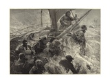 The Pitiless Storm Giclee Print by Charles J. Staniland