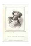 Louis-Francois Roubiliac, French Sculptor Giclee Print by W.c. Edwards