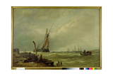 On the Texel, 1856 Giclee Print by Clarkson R.A. Stanfield
