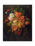 Fruit and Flowers Giclee Print by Jan Davidsz. de Heem