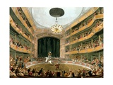 Astley's Ampitheatre, from Ackermann's Repository of Arts, 1808 Giclee Print by T. & Pugin Rowlandson