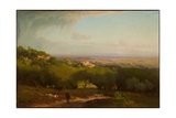 The Alban Hills, 1873 Giclee Print by George Snr. Inness