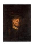 Head of a Man, C.1825 Giclee Print by Rembrandt Harmensz. van Rijn