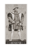 Henry Viii (1491-1547) from 'Illustrations of English and Scottish History' Volume I Giclee Print by J.l. Williams