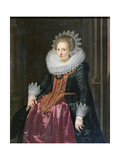Madame Vrijdags Van Vollehoven, 1620 Giclee Print by Jan Anthonisz. van Ravestyn