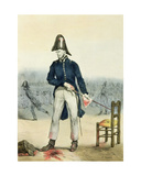 The Public Order also Reigns in Paris, 1831 Giclee Print by J.J. Grandville