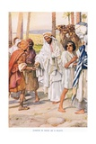 Joseph Is Sold as a Slave Giclee Print by Arthur A. Dixon
