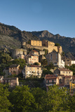 City and Citadel, Corte, Corsica, France Photographic Print by Walter Bibikow