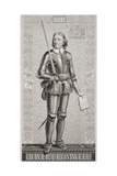 Oliver Cromwell (1599-1658) from 'Illustrations of English and Scottish History' Volume I Giclee Print by J.l. Williams