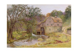 The Never Failing Brook, the Busy Stream, 1898 Giclee Print by Wilmot, R.W.S. Pilsbury