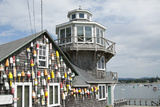 Collection of Lobster Buoys, Maine, USA Photographic Print by Rick Daley