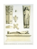 The Stanley Child Monument, St. Peter's Church, Elford, Staffordshire, England, 1848-49 Giclee Print by Edward M. Richardson