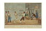 Art of Self Defence Giclee Print by I. Robert & George Cruikshank