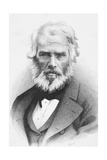 Thomas Carlyle Giclee Print by C. Laurie