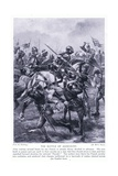 The Battle of Agincourt Ad1415, 1920's Giclee Print by Henry A. Payne