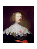 Portrait of a Young Woman Giclee Print by Wybrand Simonsz. de Geest