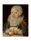 Portrait of a Child Giclee Print by Wybrand Simonsz. de Geest