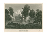 Strawberry Hill, Twickenham, London; the Seat of Countess Dowager Waldegrave Giclee Print by Pieter Jansz. Quast