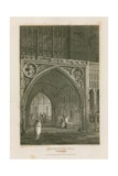 Westminster Hall Giclee Print by Pieter Jansz. Quast
