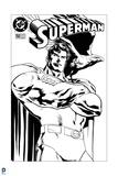 Superman: Superman No. 150 (Black and White) Prints