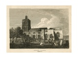 Stepney Church, London Giclee Print by Pieter Jansz. Quast