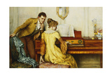 The Broken Chord Giclee Print by William A. Breakspeare