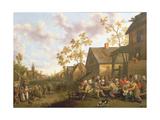 Village Festival Giclee Print by Joost Cornelisz. Droochsloot