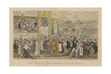 Tom Jerry and Logic in Characters at the Grand Carnival Giclee Print by I. Robert & George Cruikshank