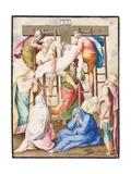The Deposition Giclee Print by Giorgio-giulio Clovio