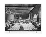 Representation of the Ceremony of Presenting the Sheriffs of London, Samuel Birch and William… Giclee Print by C. John Mayle Whichelo