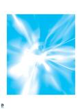 Justice League: Blue Light with Fancy Effect Art