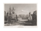 London Docks Giclee Print by Pieter Jansz. Quast