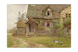 Cottage at Mansell Lacy Near Hereford Giclee Print by Wilmot, R.W.S. Pilsbury